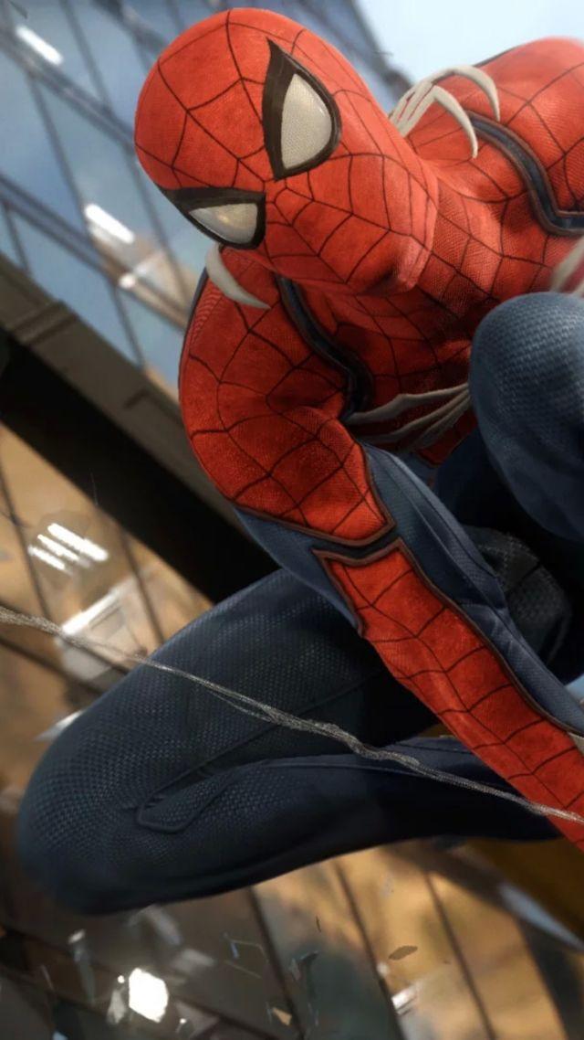 Download Wallpaper Spiderman Hd Wallpaper Spider Man Marvel Superhero Ps4 Games 12379