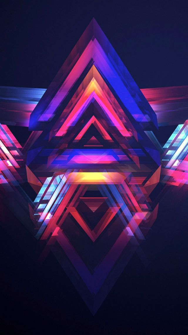 Wallpaper Celular 4k Pubg Mobile Wallpaper Hd Abstract Polygon Os 13564