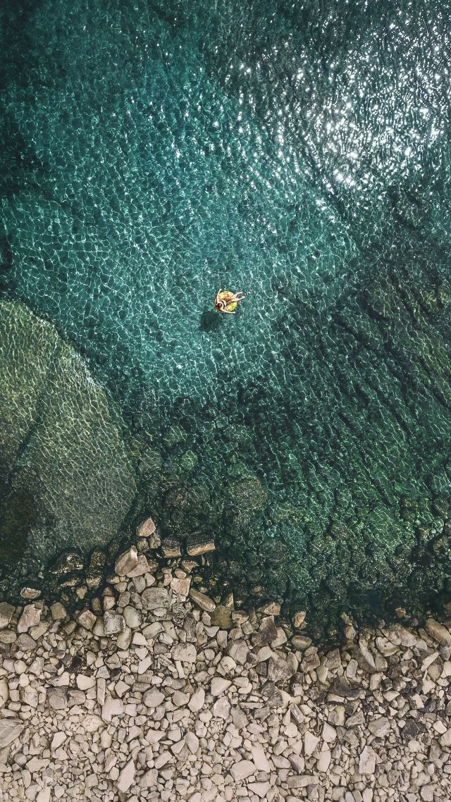 Iphone X Wallpaper With Notch Wallpaper Ios 11 4k Sea Os 13659
