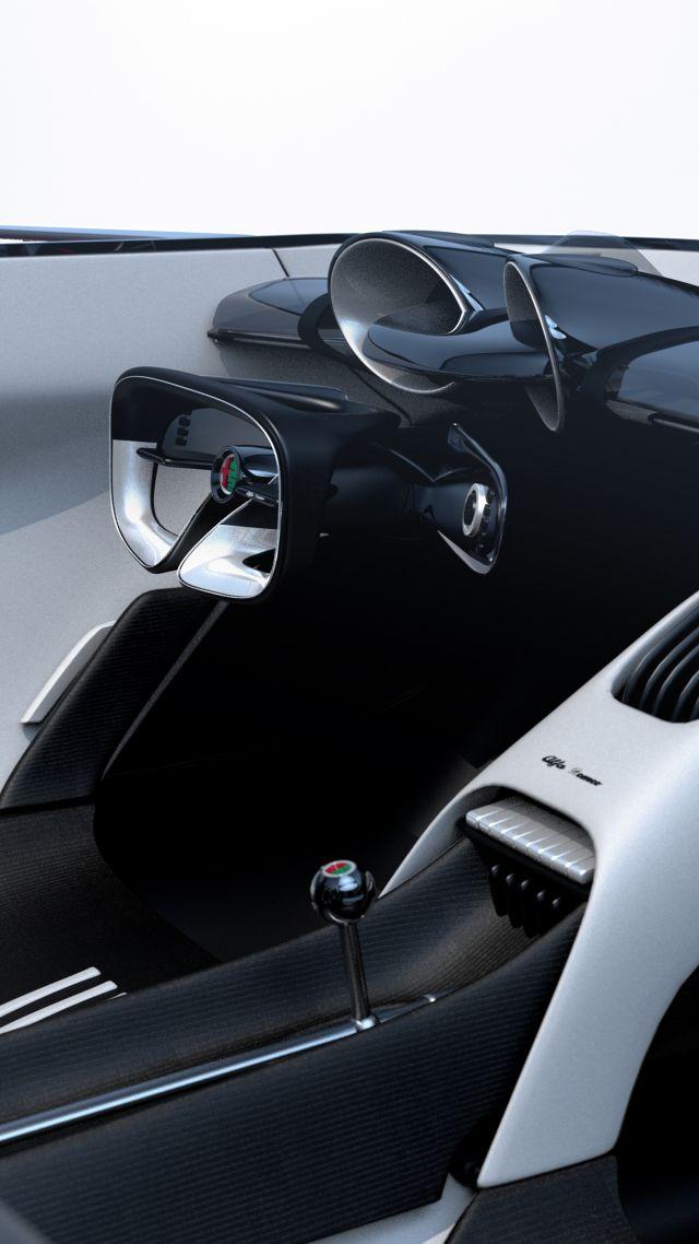 Elon Musk Car In Spac Wallpaper Wallpaper Alfa Milano 2077 Electric Cars 5k Cars