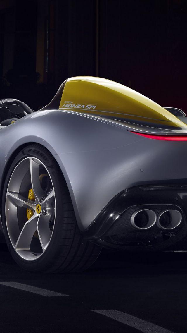 Car Service Hd Wallpapers Wallpaper Ferrari Monza Sp1 2019 Cars Supercar 4k Cars