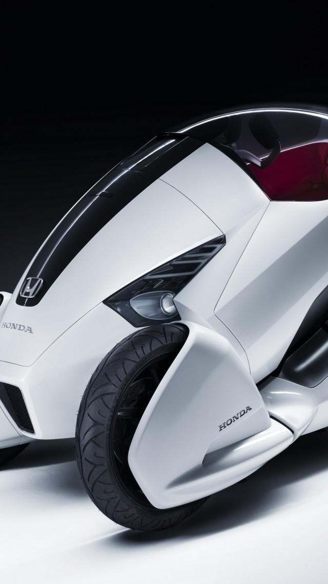 Hd Vertical Car Wallpapers Wallpaper Honda 3r C Concept Honda Three Wheeled