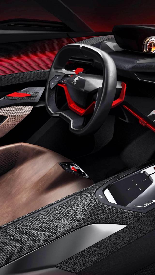 Custom Classic Cars Wallpaper Wallpaper Peugeot Quartz Concept Interior Supercar