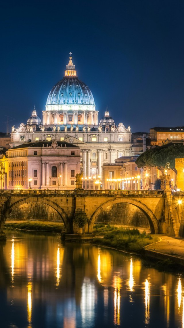Wallpaper st angelo bridge Rome Italy Tourism Travel Architecture 4716