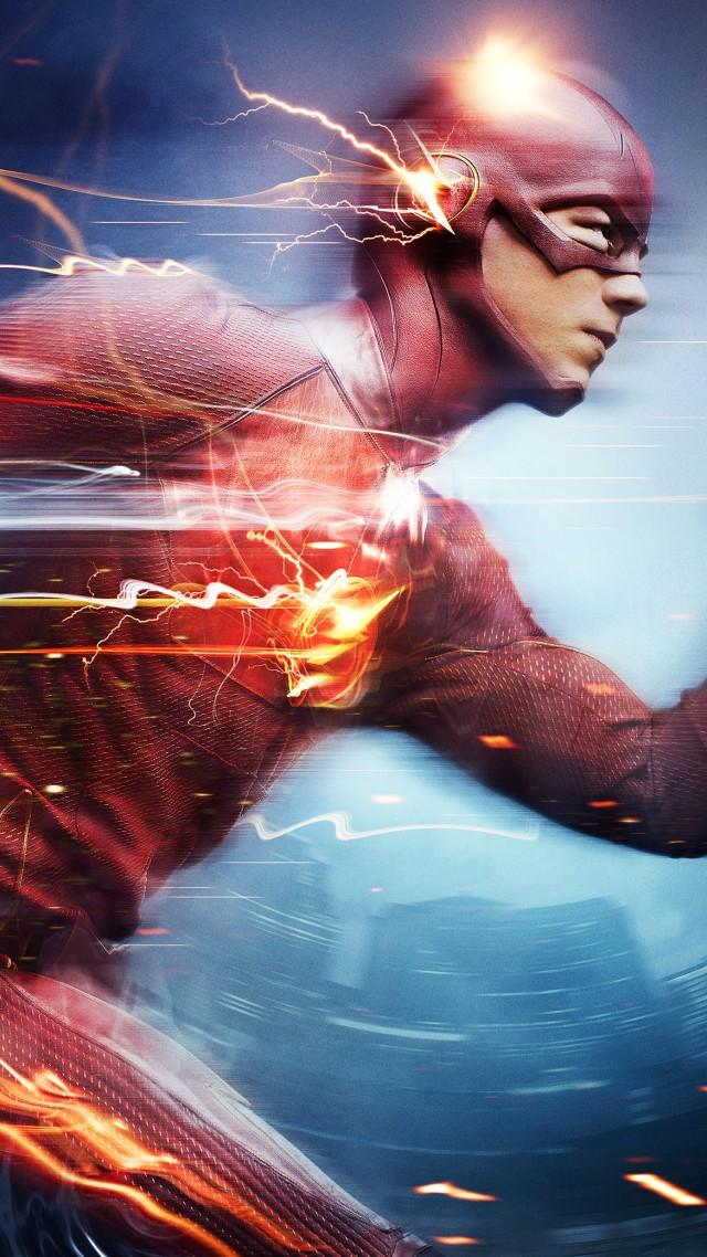 Sci Fi Iphone Wallpaper Wallpaper The Flash Best Tv Series Of 2015 Grant Gustin