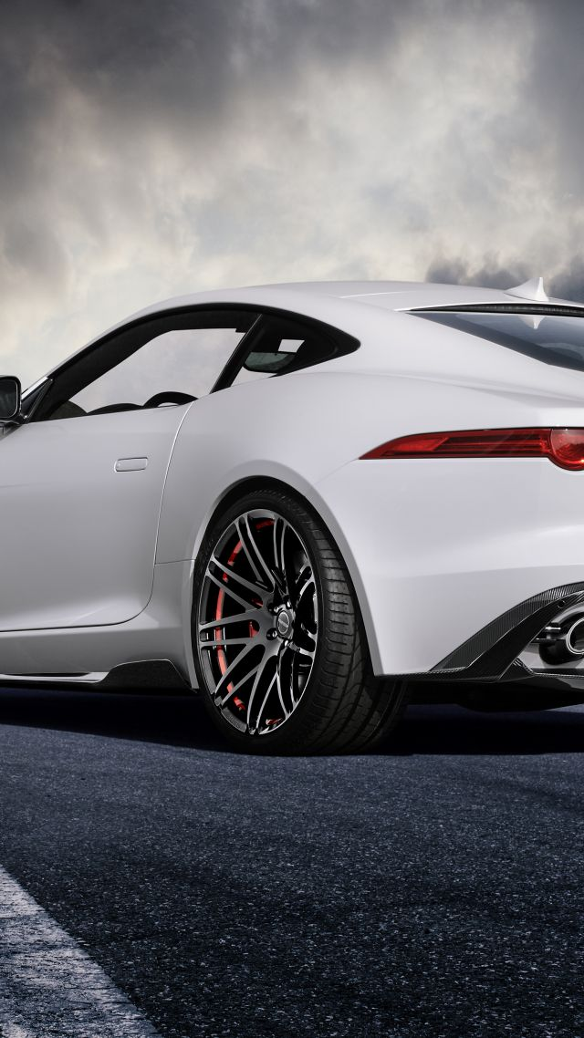 Hd Car Cell Phone Wallpaper Wallpaper Jaguar F Type Coupe White Startech Cars