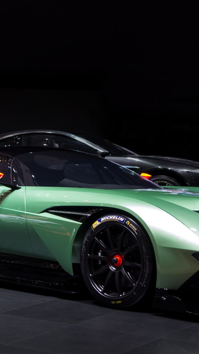 Luxury Car Wallpaper 4k Wallpaper Aston Martin Vulcan Coupe Track Only Green