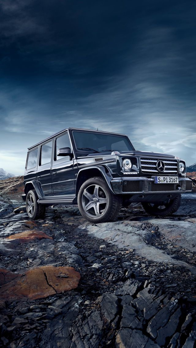 Wallpaper MercedesBenz G 500 SUV Mercedes GClass off