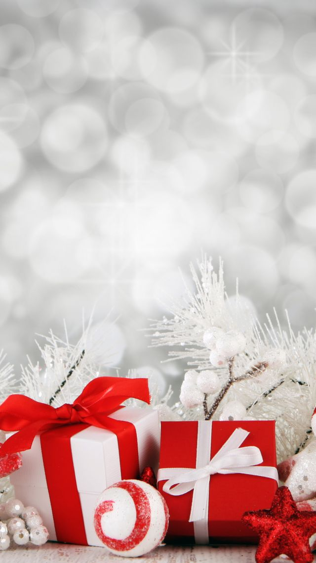 Wallpaper Christmas New Year Gist Box Star