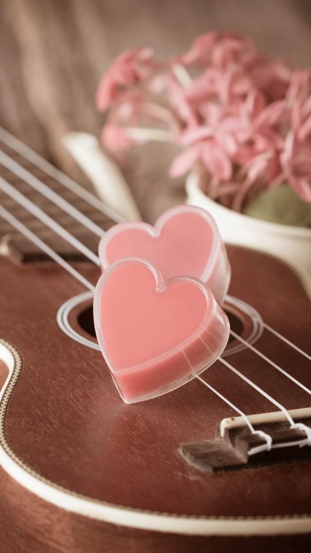 Cute Romantic Love Quotes Wallpaper Wallpaper Valentine S Day Heart Guitar Romantic