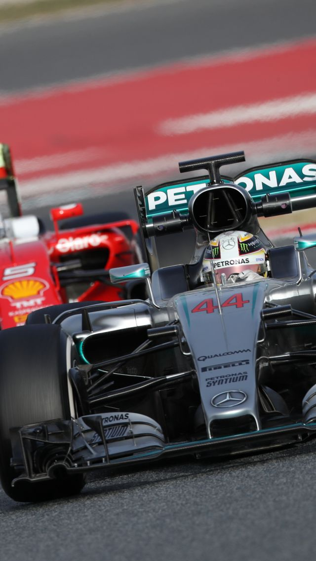 Racing Car Live Wallpaper Android Wallpaper Mercedes Amg F1 W07 Hybrid Formula 1 Testing
