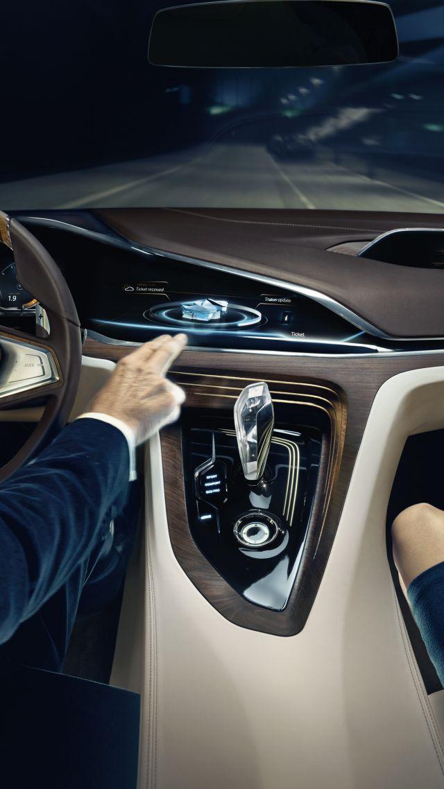 Classic Car Show Hd Wallpapers Wallpaper Bmw Vision Future Luxury 9 Series Sedan