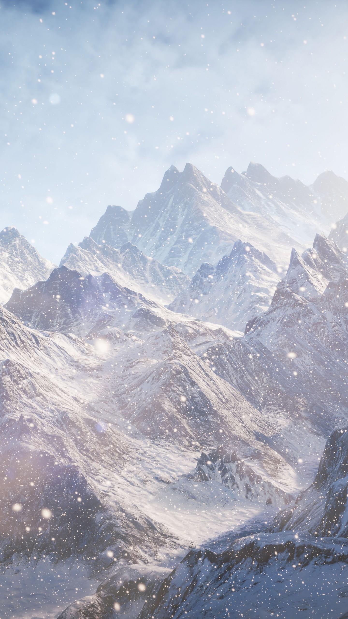 Home Screen Cute Wallpapers For Girls Wallpaper 3d 5k 4k Wallpaper 8k Mountains Snow