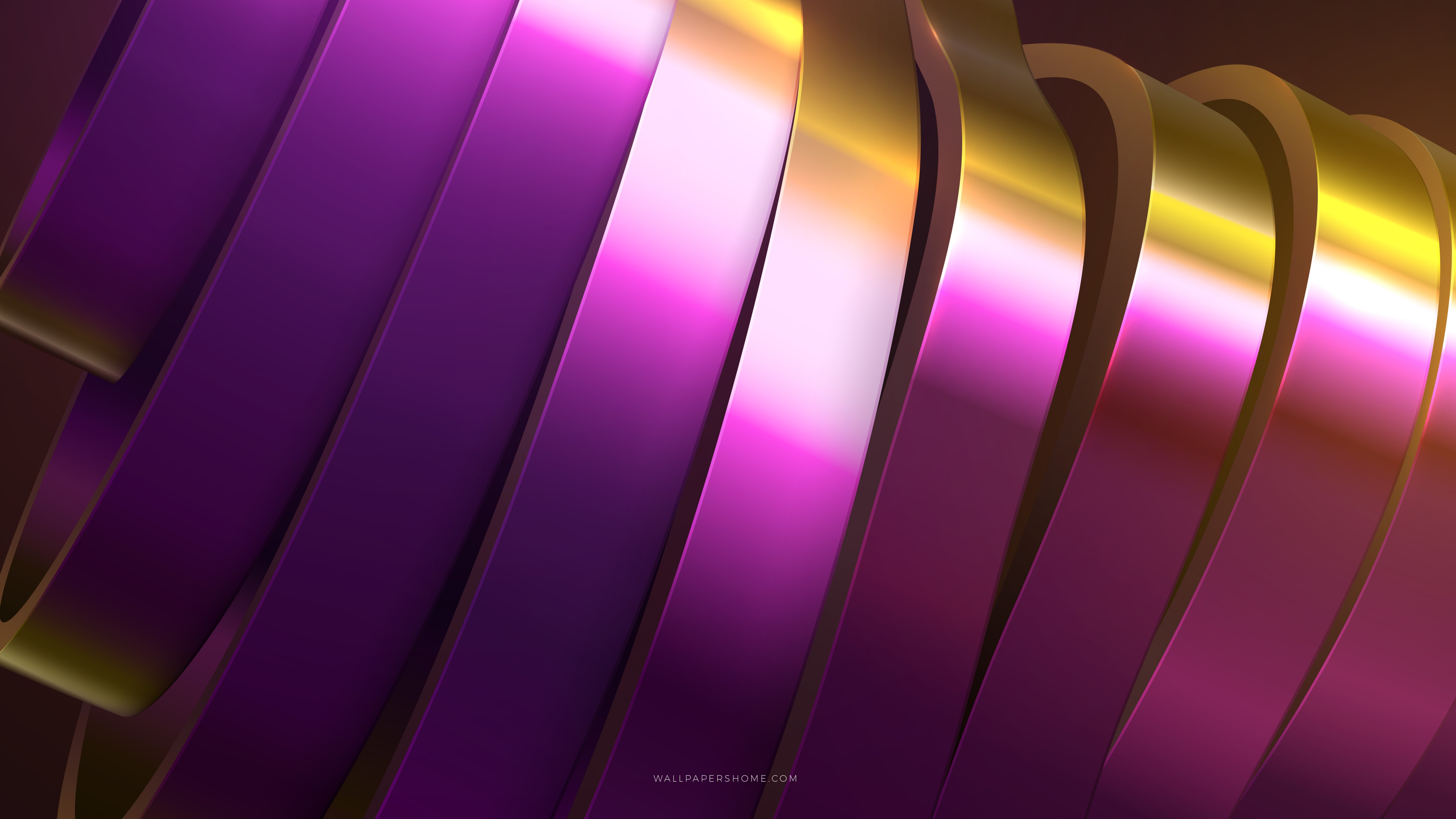 Wallpaper Abstract 3d Colorful Rings 8k Abstract 21281
