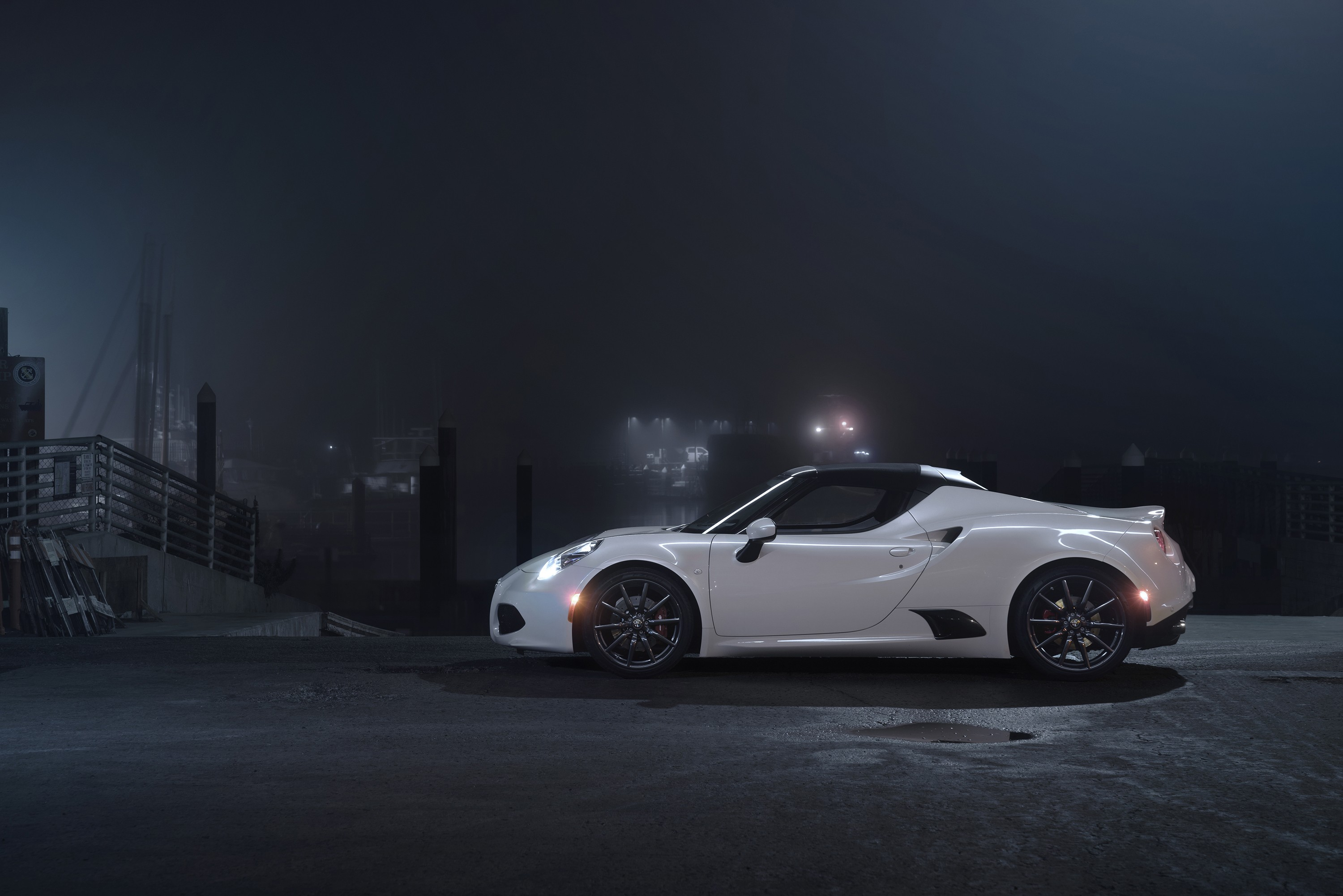 Mercedes Benz Amg Iphone Wallpaper Wallpaper Alfa Romeo 4c Coupe Sportcar White Cars