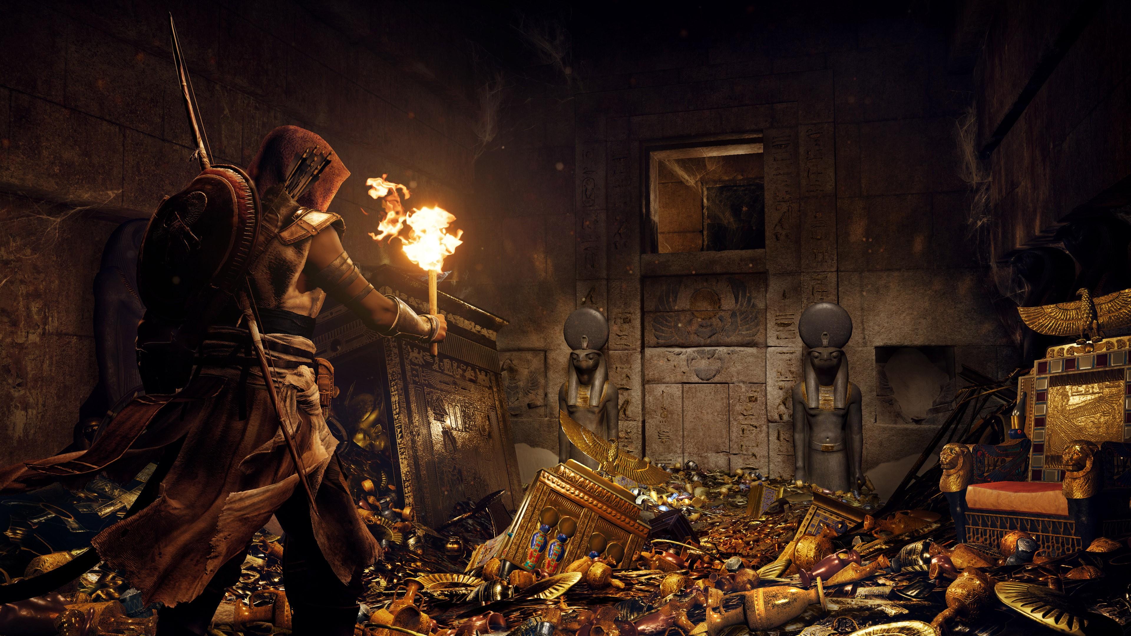 Fall Pumpkin Hd Wallpaper Wallpaper Assassin S Creed Origins 4k E3 2017