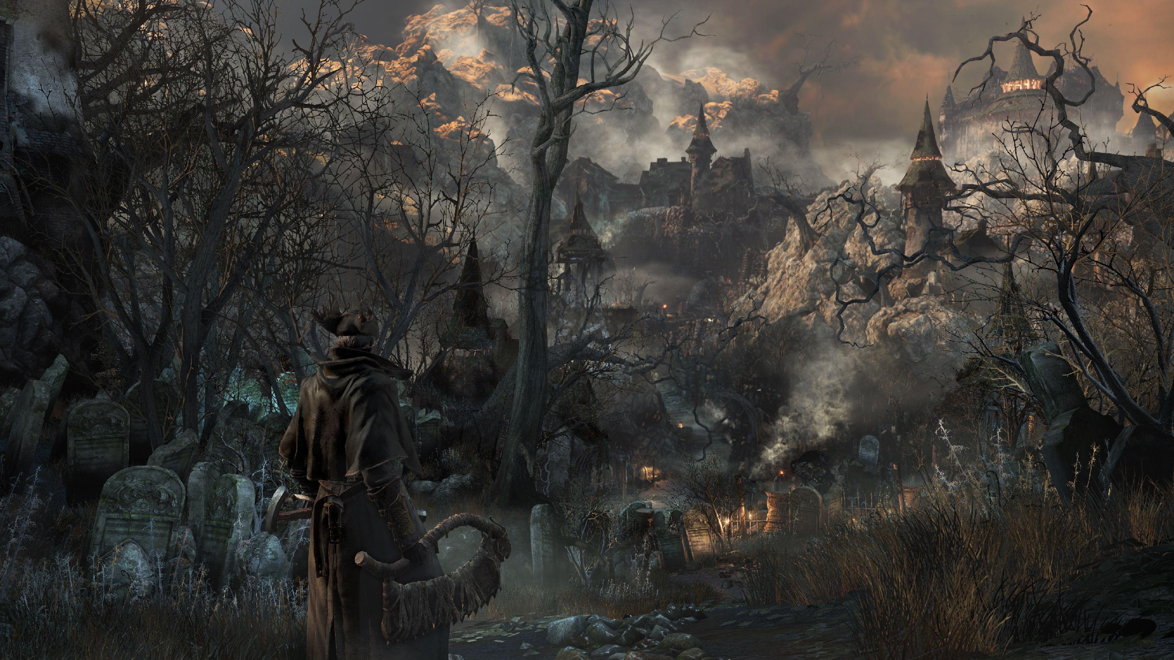 Wallpaper Bloodborne Gameplay Review Screenshot Interface Game Yharnam Best Games Of 2015