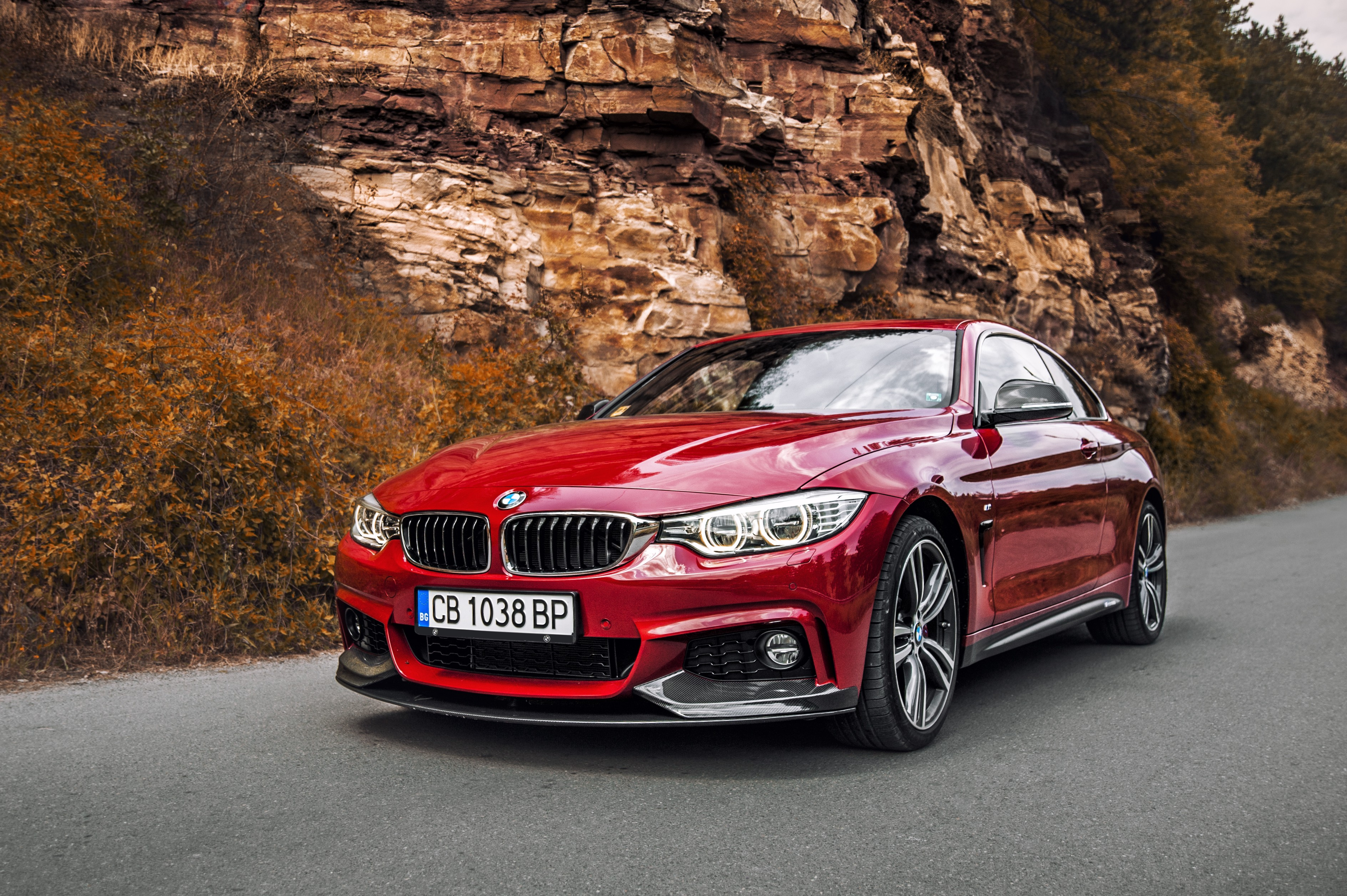 Custom Classic Cars Wallpaper Wallpaper Bmw 440i Red Edition Coupe Cars Amp Bikes 11916