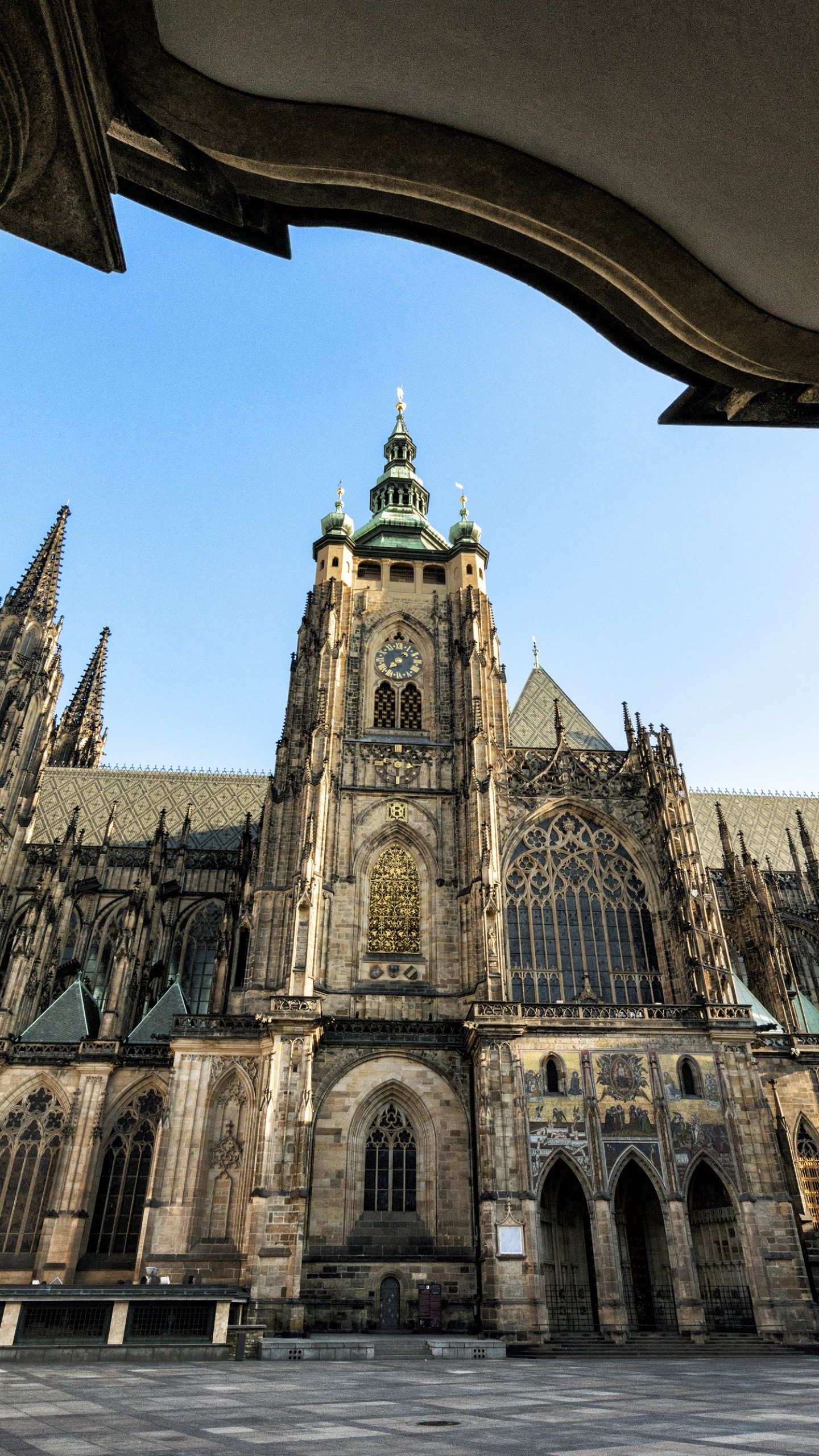 Game Quotes Wallpaper Wallpaper Cathedral Of St Vitus Prague Castle Czech