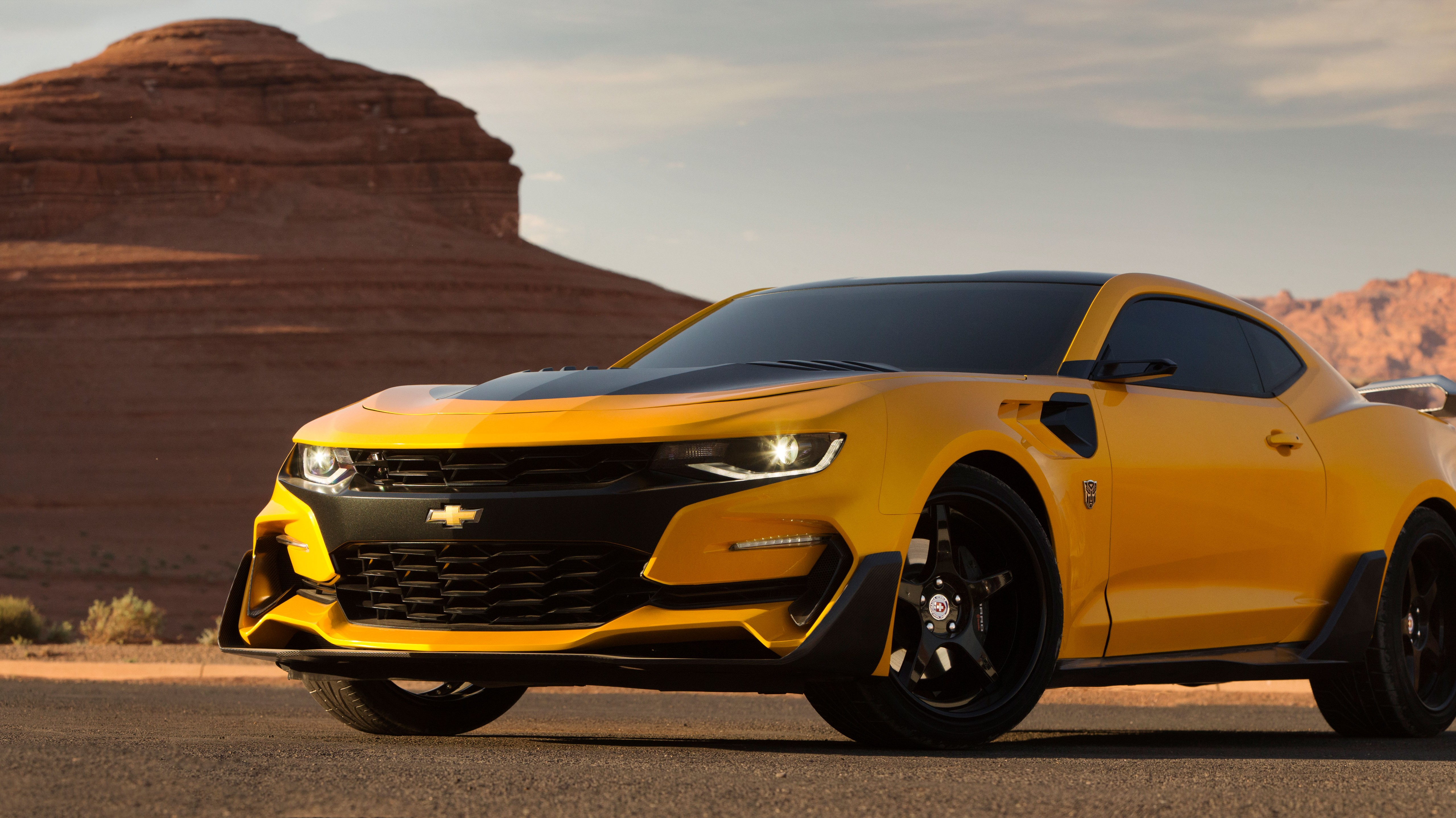 Wallpaper Chevrolet Camaro Bumblebee Transformers The