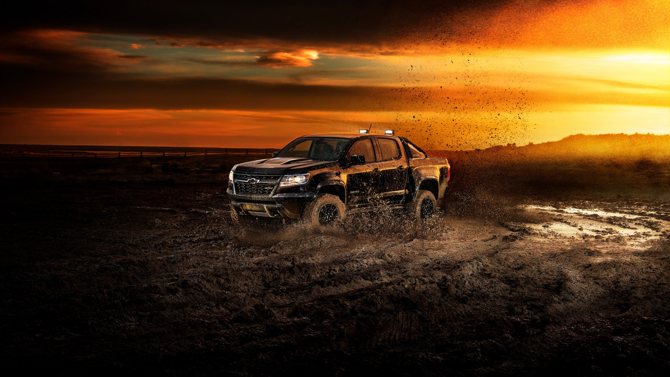 Music Quotes Wallpaper Hd Wallpaper Chevrolet Colorado Zr2 2018 Cars 4k Cars