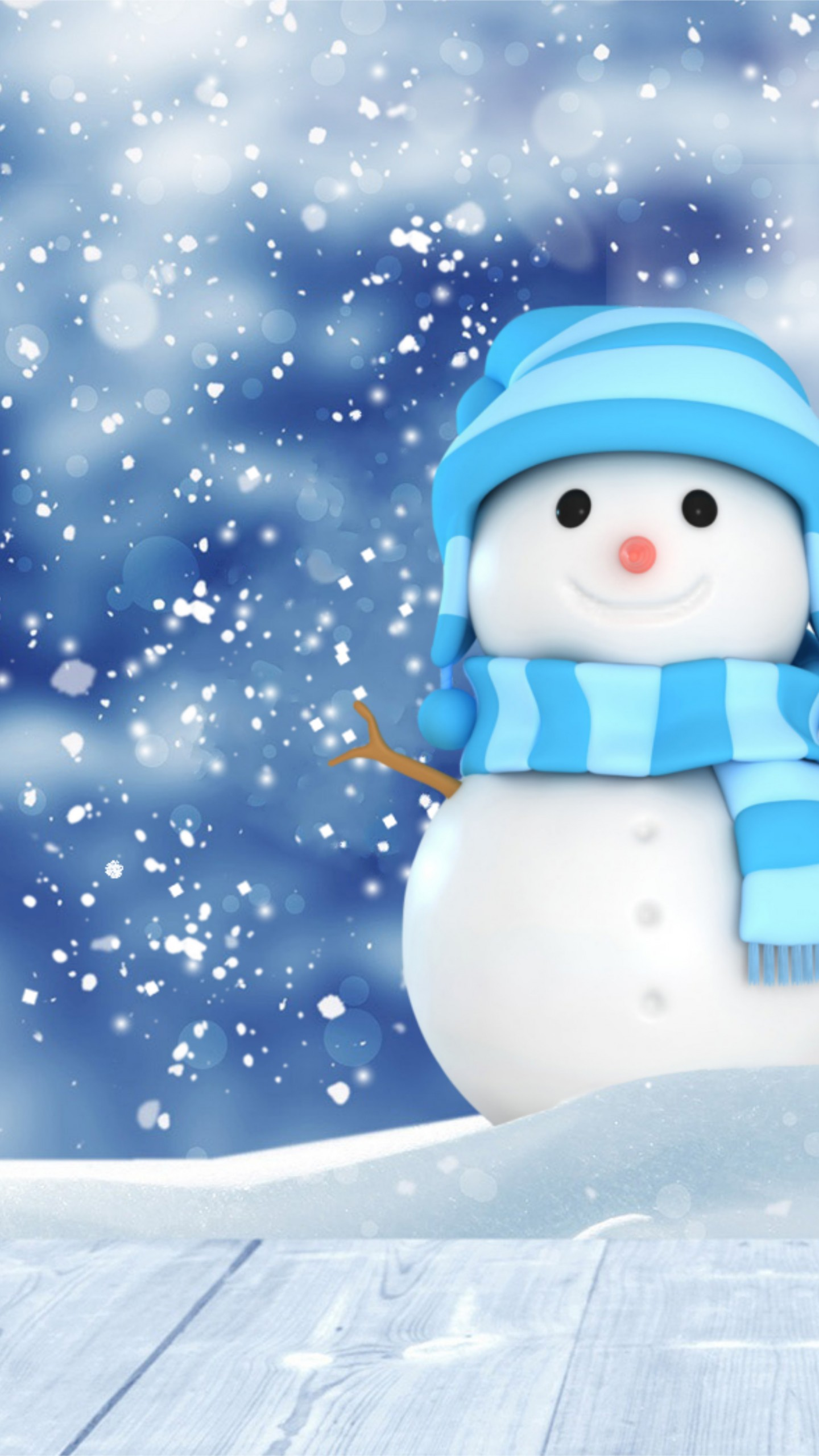 Stock Images Christmas New Year Snow Winter Snowman