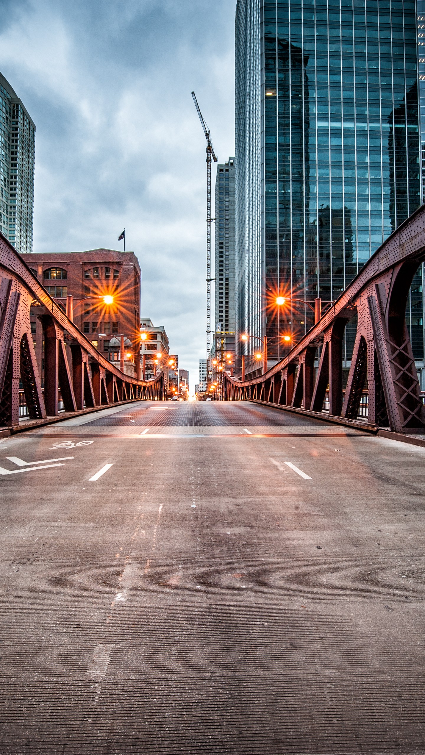 Us Military Wallpaper Quotes Wallpaper Clark Street Bridge Chicago Usa Travel