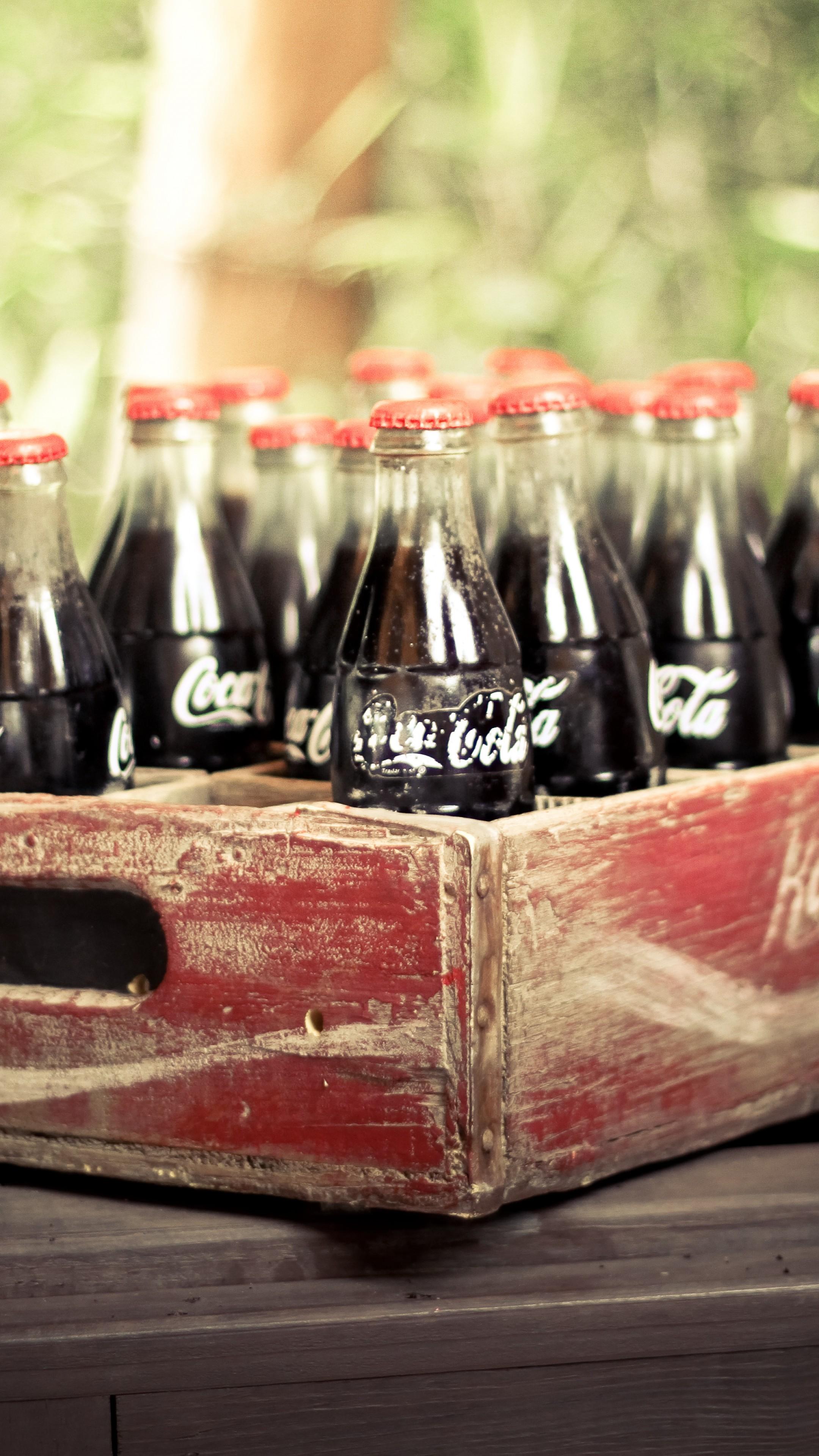 4k Christmas Wallpaper Iphone X Wallpaper Coca Cola Drink Soda Box Vintage Retro