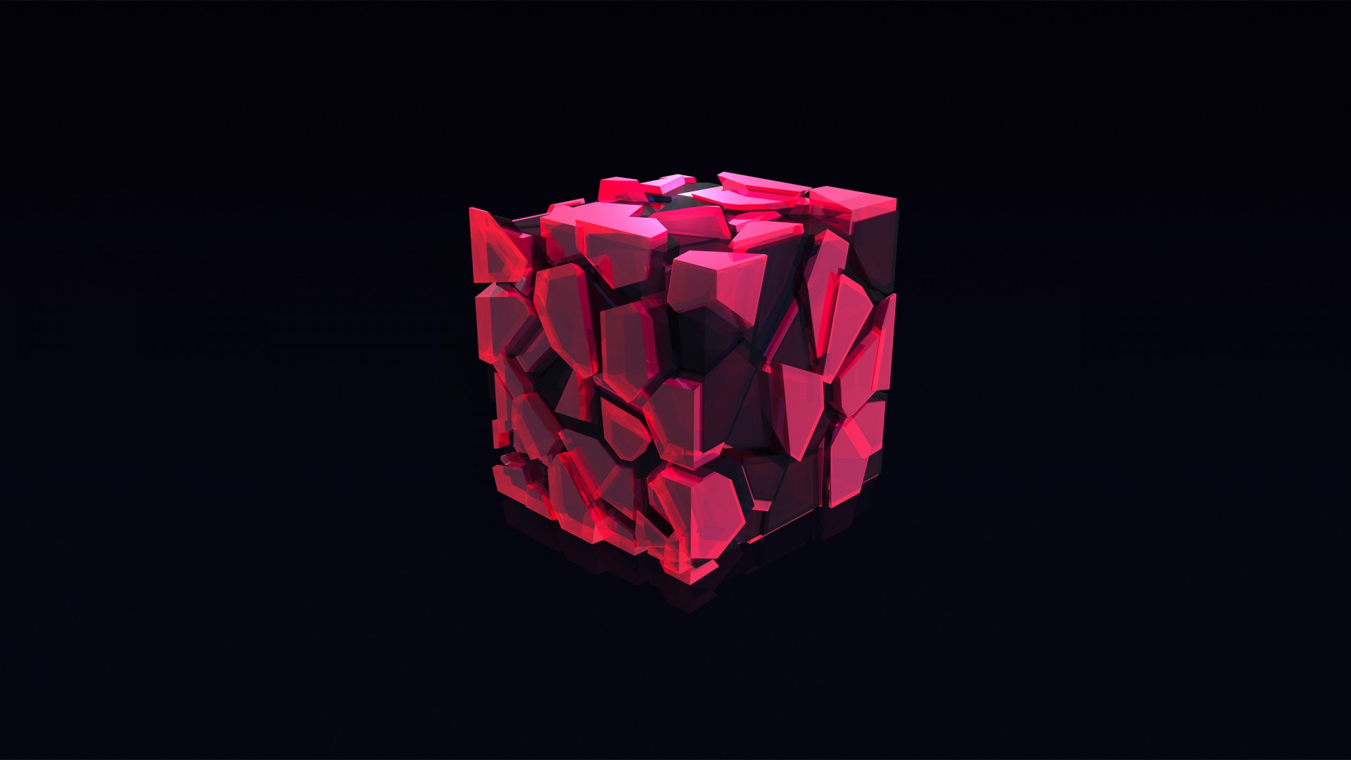 Amazing Quotes Wallpapers For Facebook Wallpaper Cube 3d Pink Hd Abstract 16361