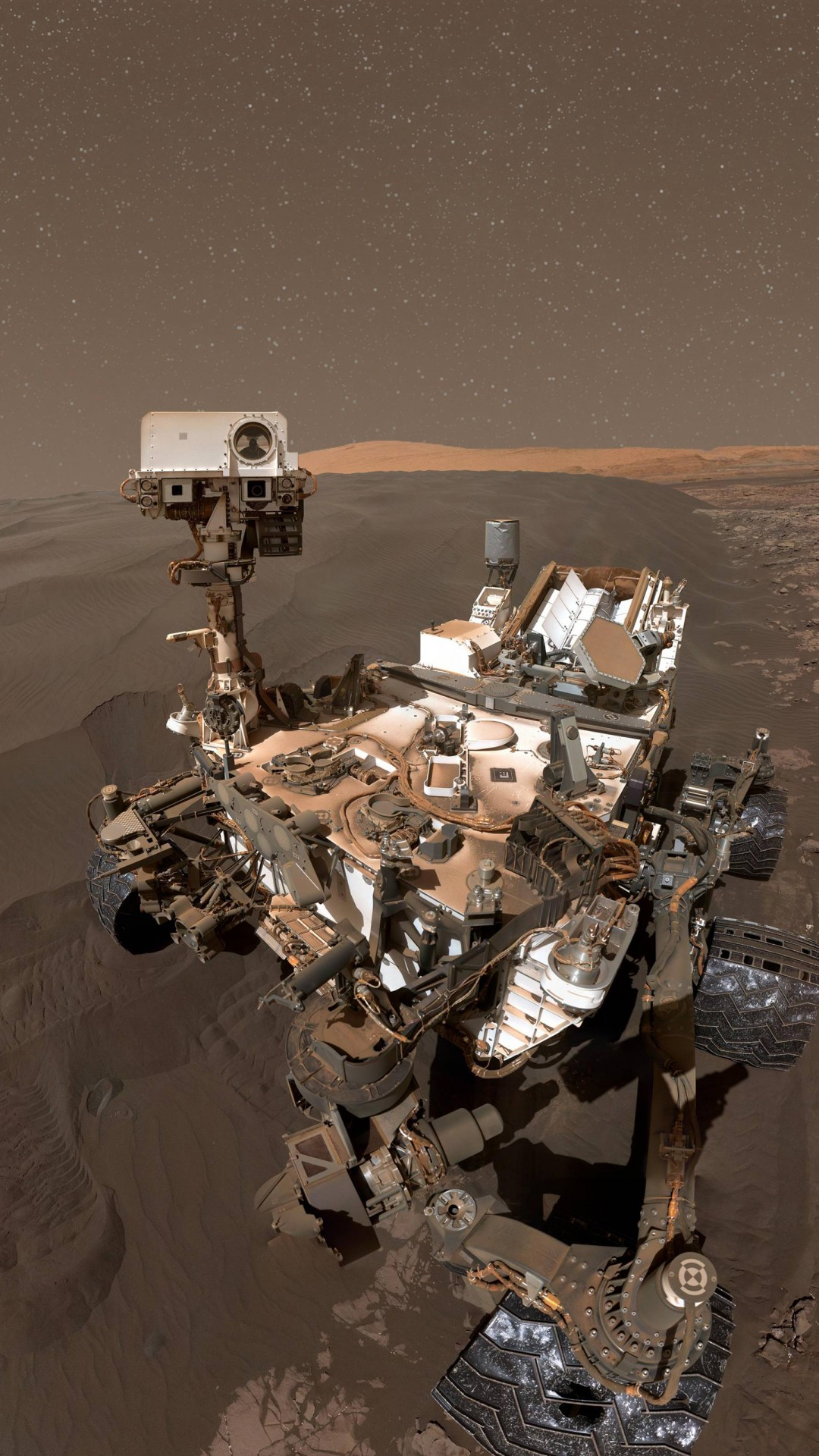 Red Dragon Girl Wallpaper Wallpaper Curiosity Rover Selfie Mars Duna Hi Tech 8716