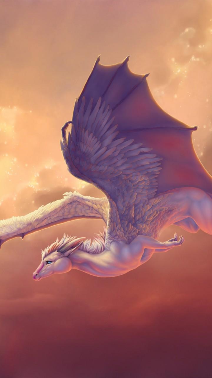 Iphone Clouds Wallpaper Wallpaper Dragon 4k Hd Wallpaper Wings Sky Pegasus