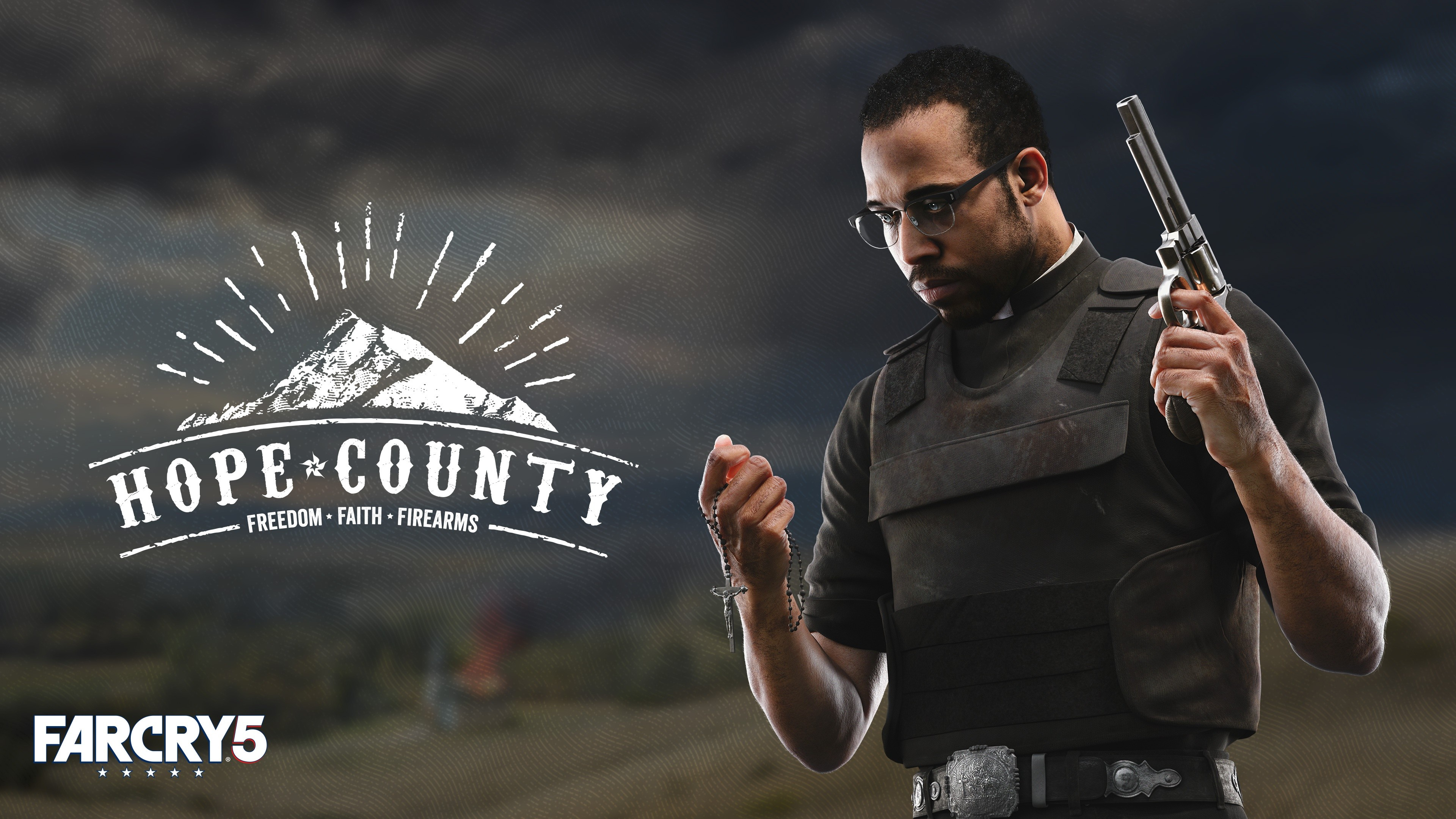 Fall Background Wallpaper Hd Wallpaper Far Cry 5 Hope County Poster Think Divine 4k