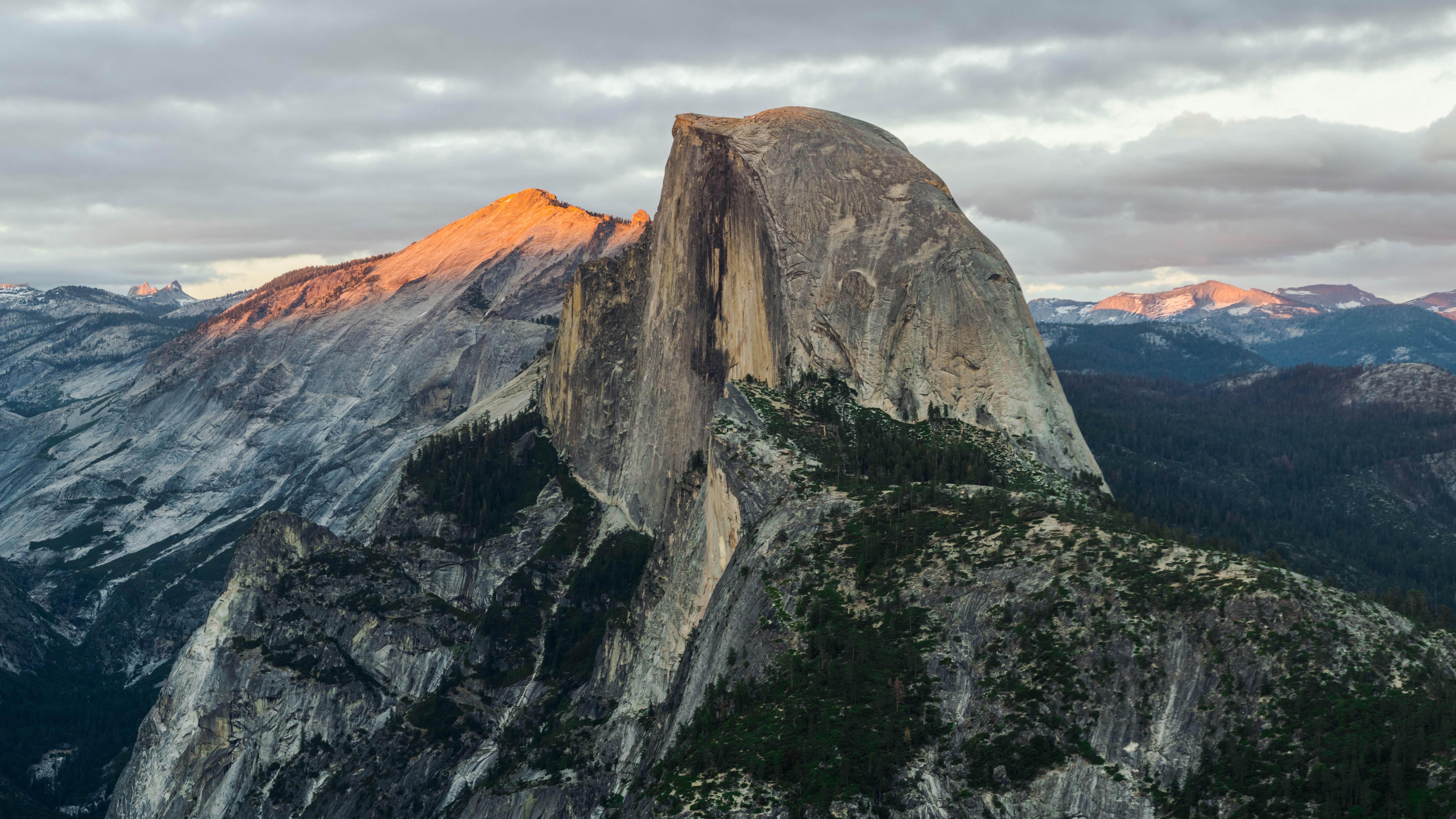 Fall Wallpaper 4d Wallpaper Half Dome Mountain Yosemite National Park