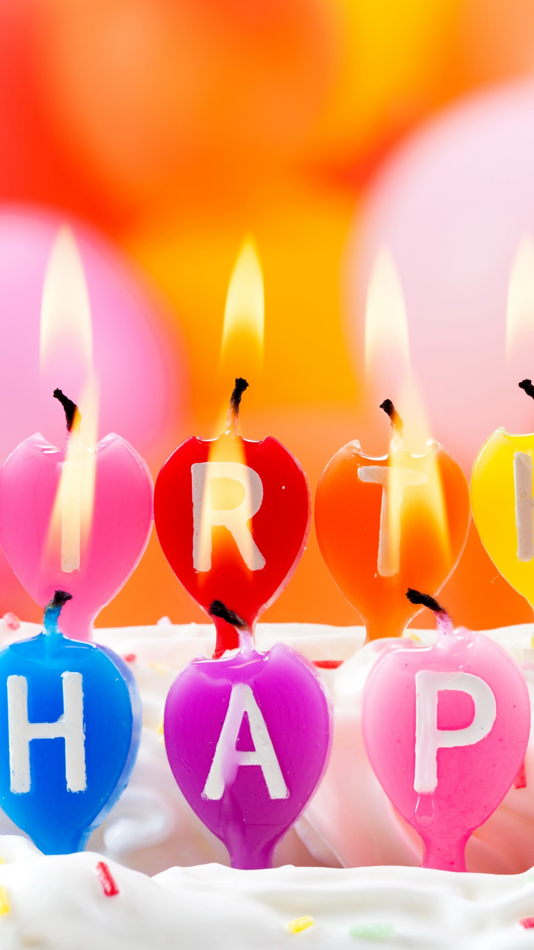 Birthday Wallpaper With Quotes Download Wallpaper Happy Birthday Candles Fire Holiday