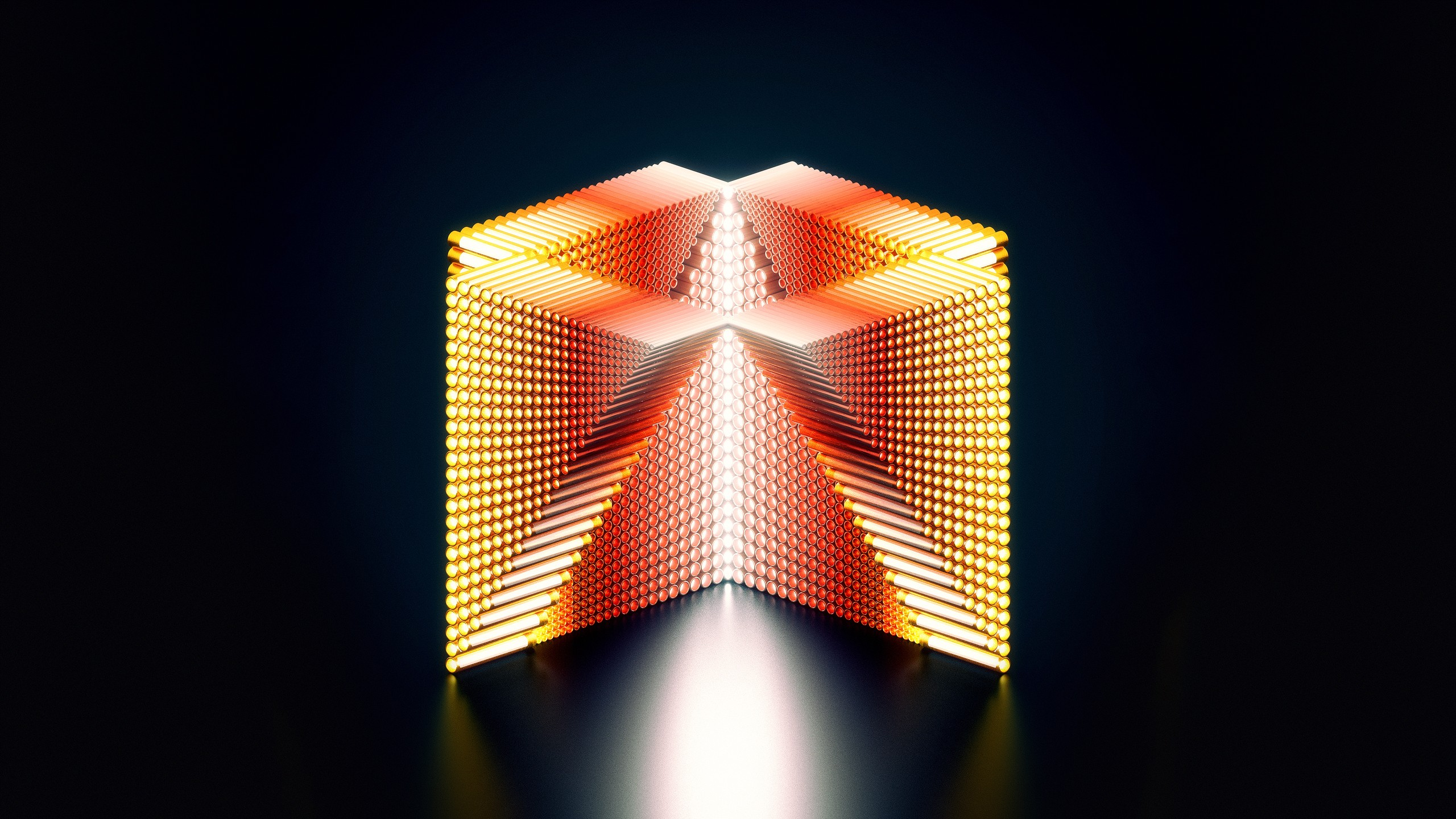 Colorful Wallpaper Iphone X Wallpaper Hd 3d Medaltations Cube Abstract 13584