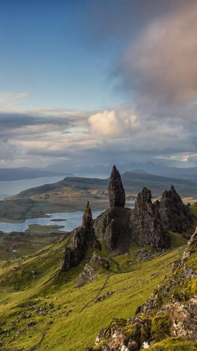 Wallpaper Isle of Skye, Scotland, Europe, nature ...