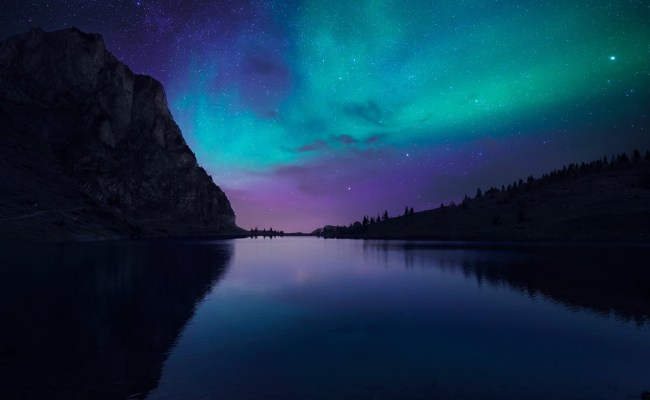 Wallpaper Lake Aurora 4k Hd Wallpaper Florida Night