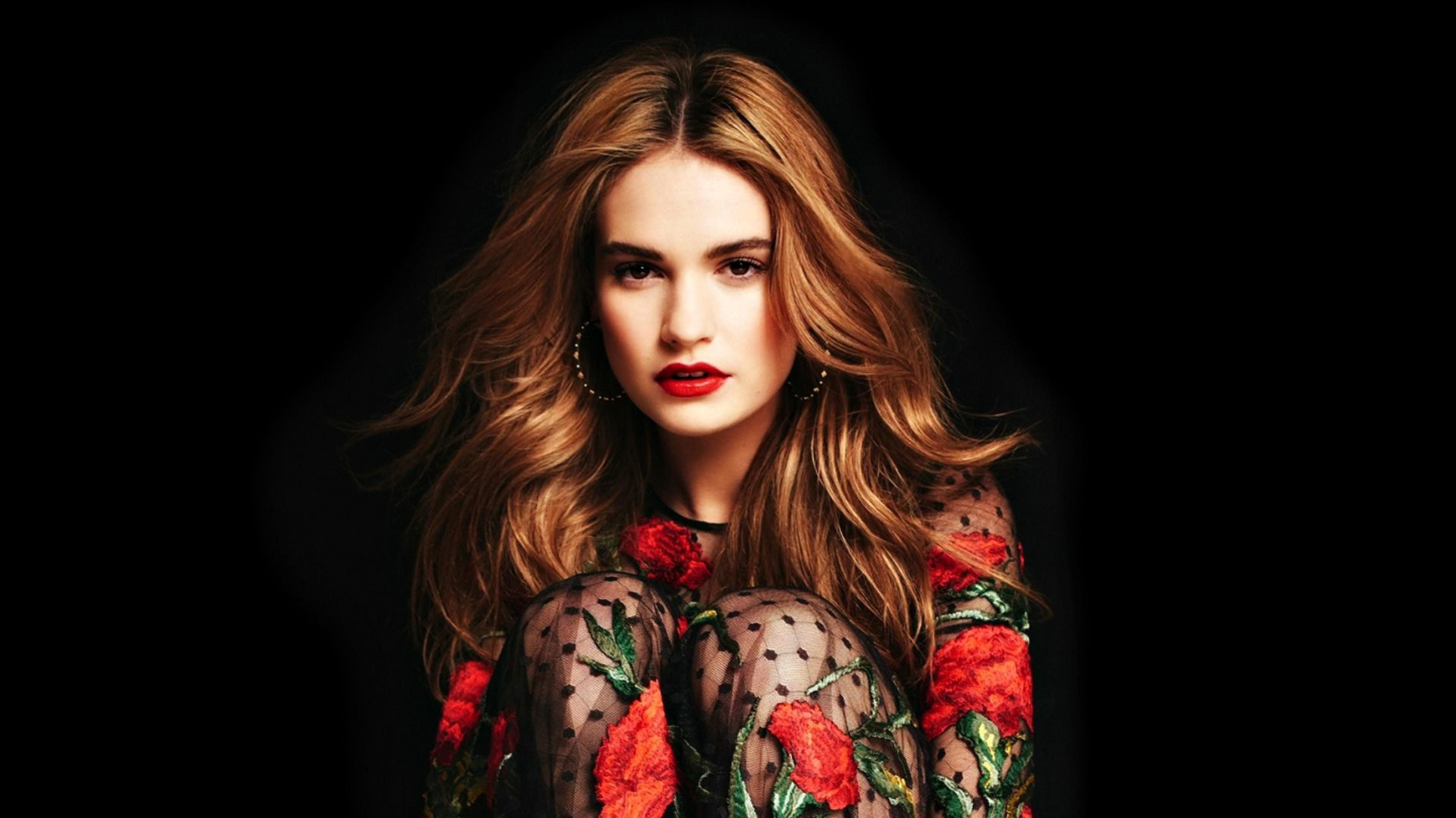 Pride And Prejudice Quotes Wallpaper Wallpaper Lily James Most Popular Celebs Actress