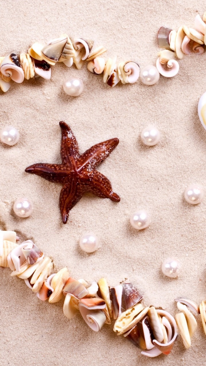 Amazing Love Wallpapers With Quotes Stock Images Love Image Heart Starfish Shell Shore 4k