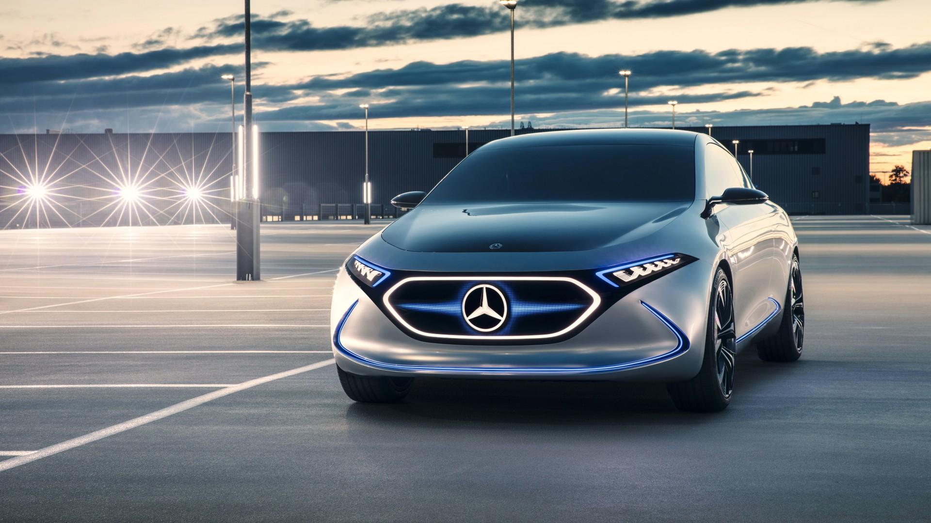 Wallpaper MercedesBenz Concept EQ electric car 4k Cars