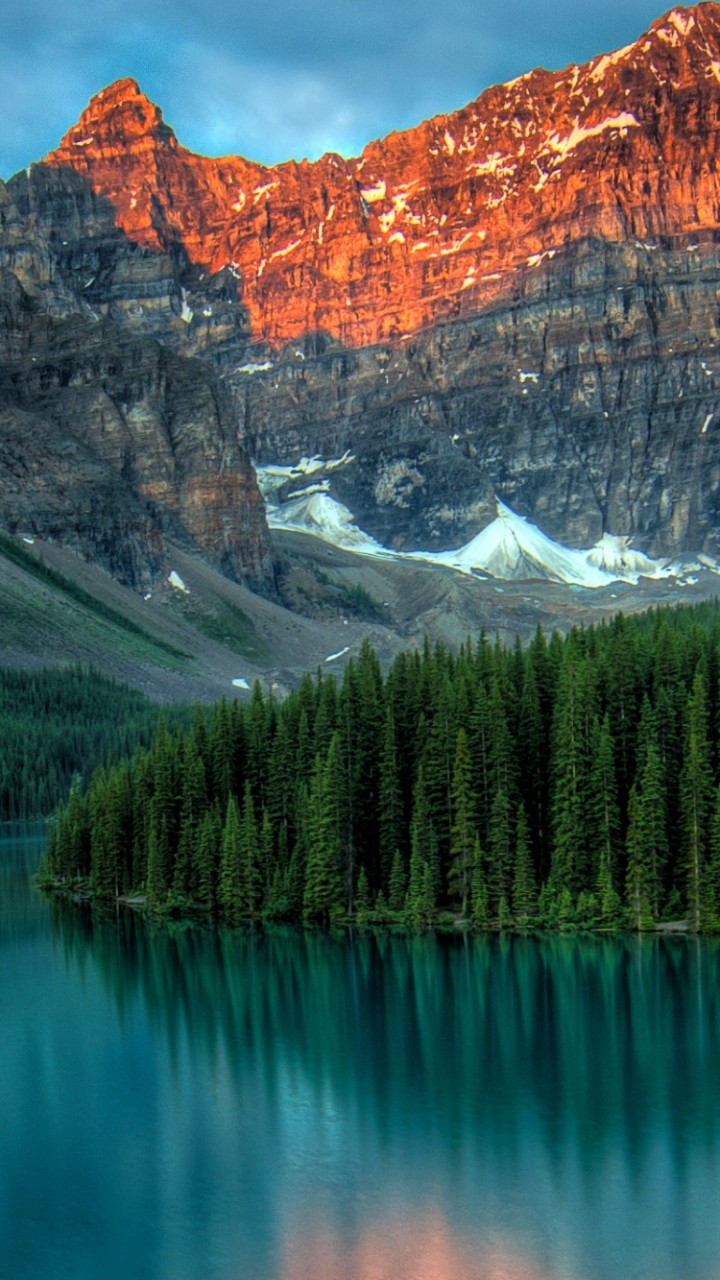 Girls Day Wallpaper Wallpaper Moraine Lake Banff Canada Mountains Forest