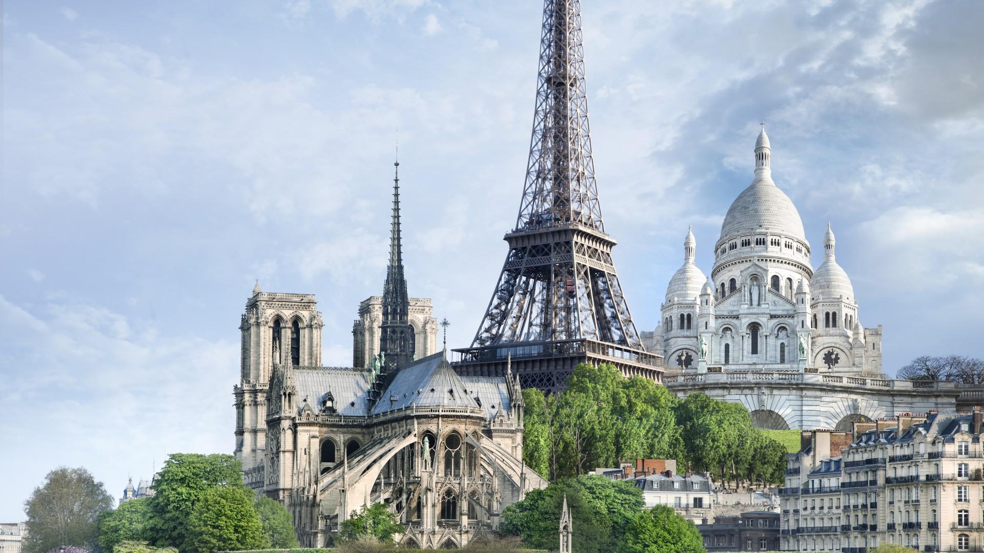 3d Space Wallpaper Download Wallpaper Paris France Monuments Travel Tourism