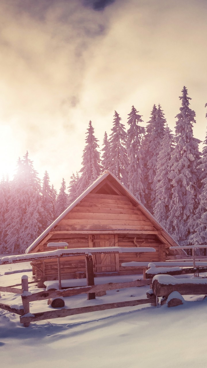 Cute Quotes About Life Wallpapers Wallpaper Pines 4k Hd Wallpaper Snow Sunset House