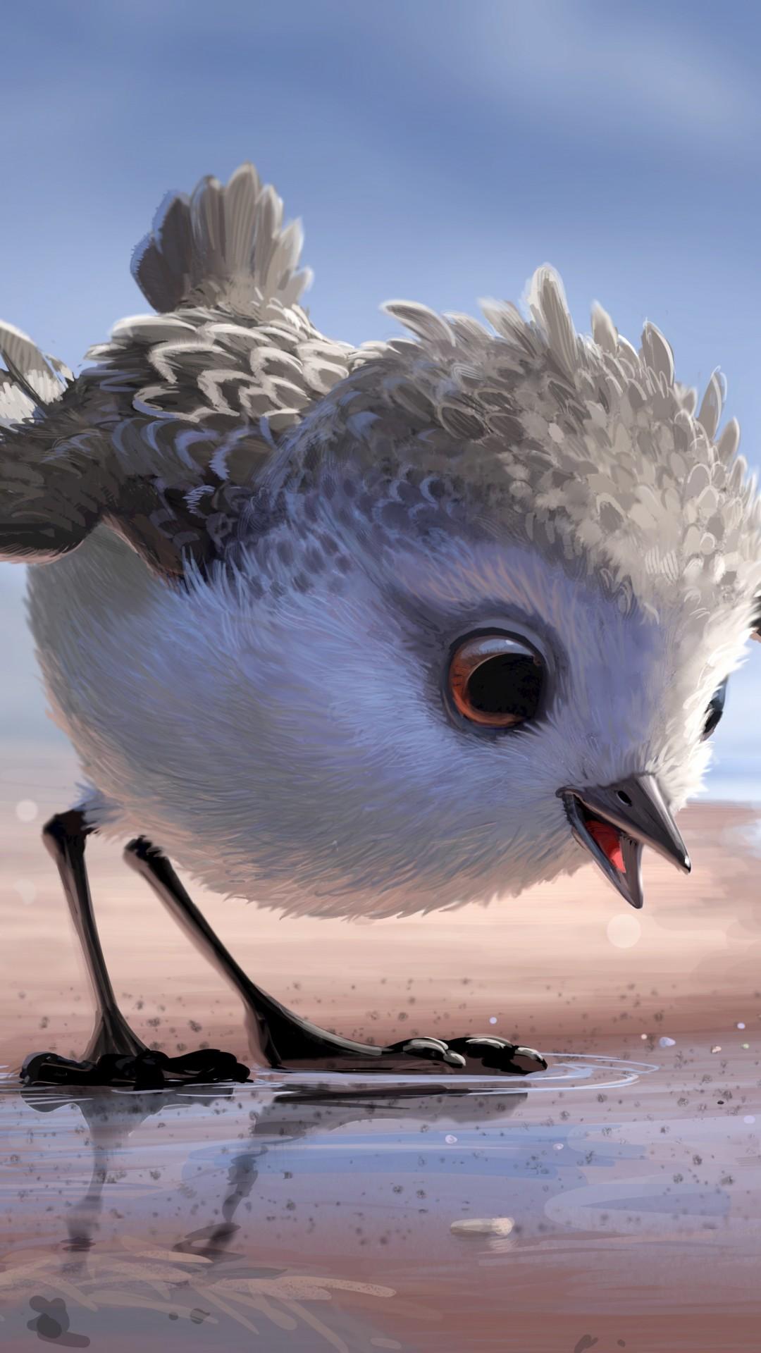 Cute Wallpapers Quotes Walt Disney Wallpaper Piper Bird Pixar Movies 10361