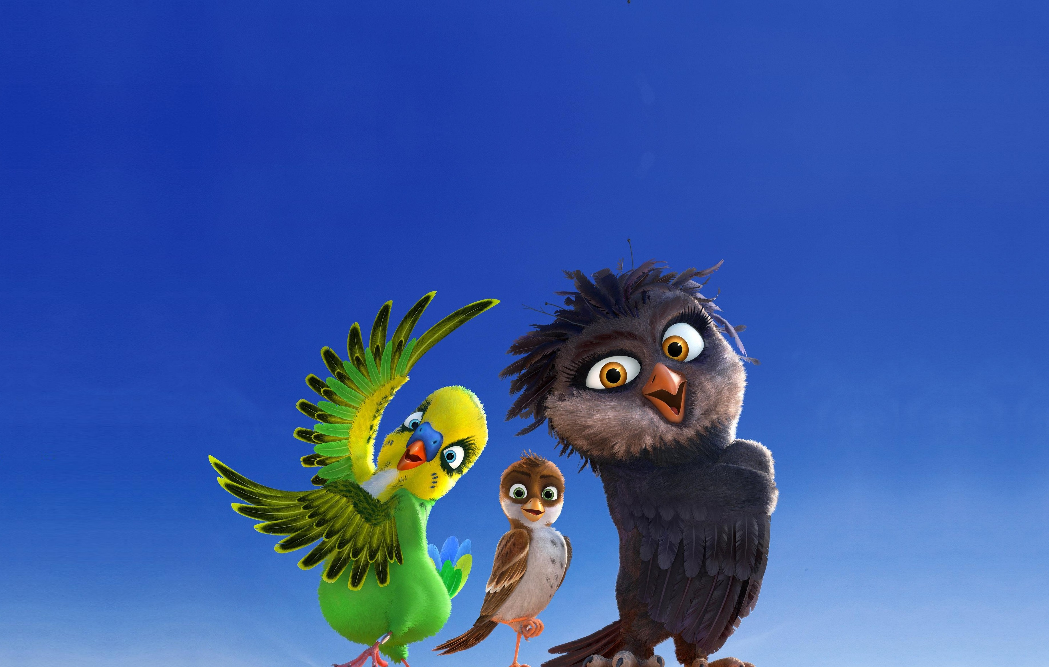 Cute Pink Owl Wallpaper Wallpaper Richard The Stork Birds Best Animation Movies