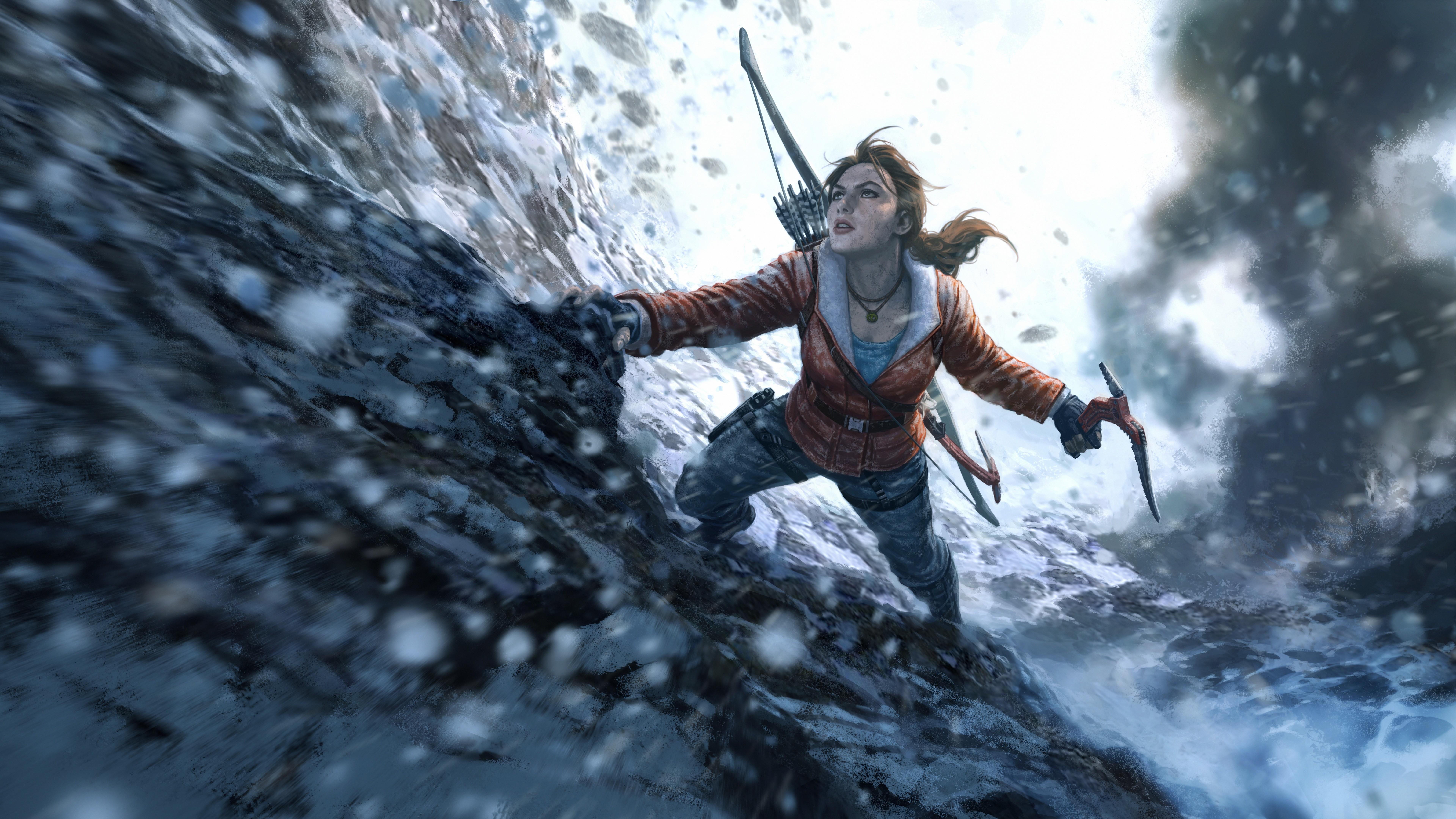 Windows 10 Wallpaper For Girls Wallpaper Rise Of The Tomb Raider 20 Year Celebration