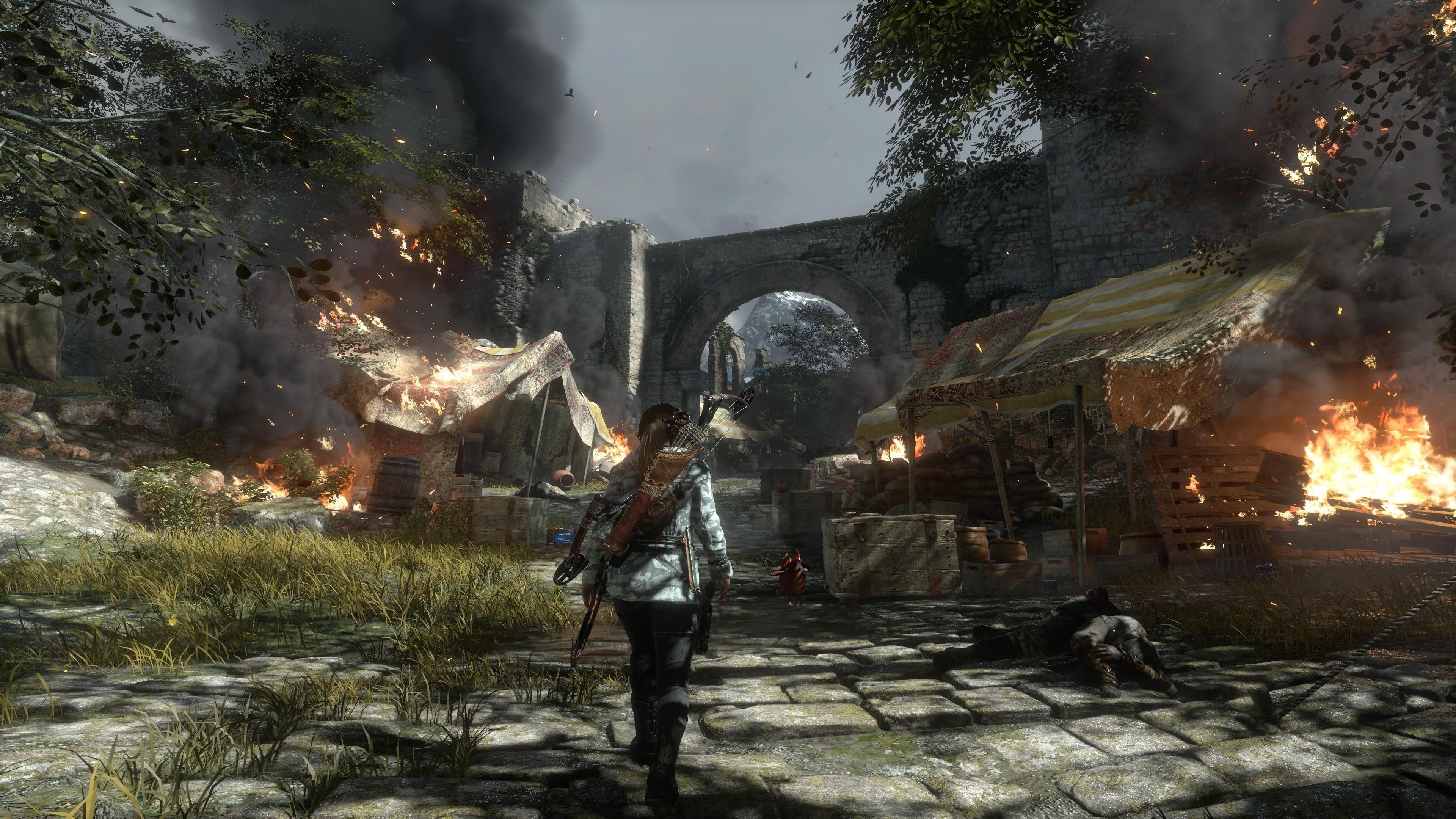 3d Crystal Wallpaper Wallpaper Rise Of The Tomb Raider Lara Croft Best Games