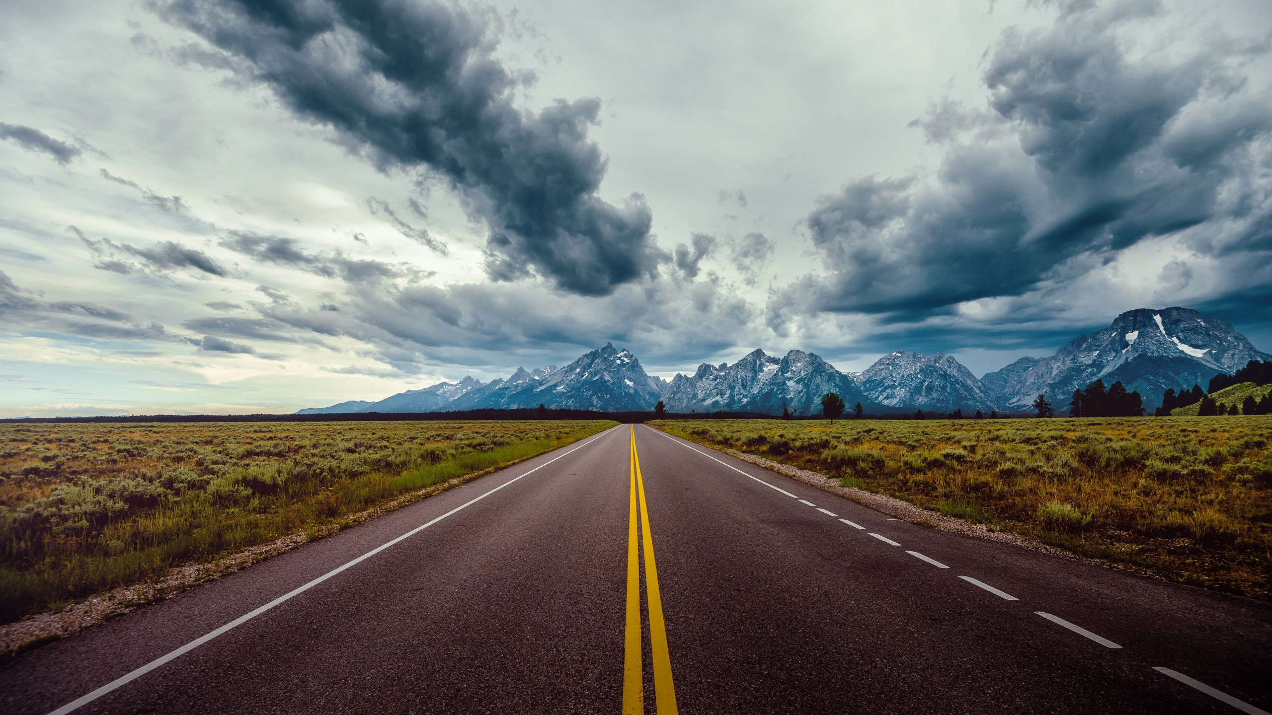 We investigate the best natural beauty treatments. Wallpaper road, sky, clouds, mountains, 8k, Nature #17775
