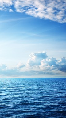 Wallpaper Sea 5k 4k Ocean Sky Clouds