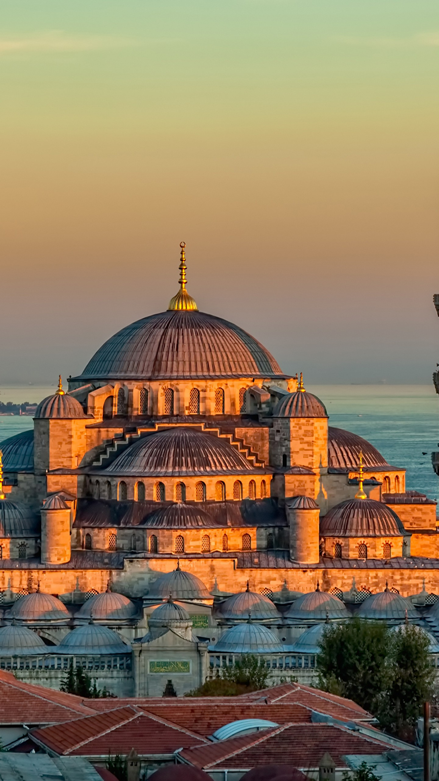 Drawing Wallpaper Iphone Wallpaper Sultan Ahmed Mosque Turkey Istanbul Sunrise